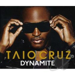 Cruz, Taio - Dynamite CD Cover Art
