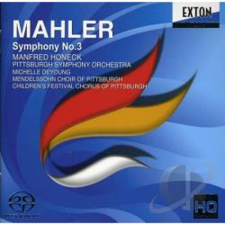 Honeck (cnd) / Pittsburgh So - Mahler: Symphony No. 3 CD Cover Art