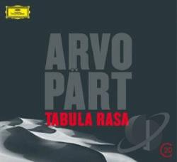 Goteborgs Symfoniker / Jarvi / Shaham - Part: Tabula Rasa CD Cover Art