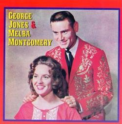 Jones, George / Montgomery, Melba - George Jones & Melba Montgomery CD Cover Art