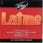 Countdown Singers - Hot Hits: Latino CD Cover Art