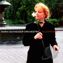 Schneider, Maria Jazz Orchestra - Allegresse CD Cover Art