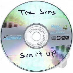 Tre Sins - Sin It Up CD Cover Art