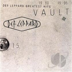Def Leppard - Vault: Def Leppard Greatest Hits CD Cover Art