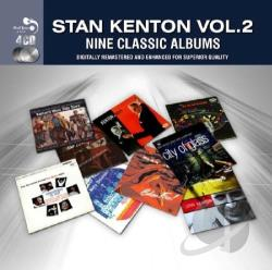 Kenton, Stan - 9 Classic Albums 2 CD Cover Art