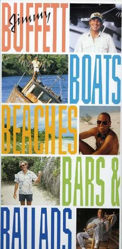 Buffett, Jimmy - Boats, Beaches, Bars & Ballads CD Cover Art