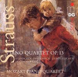 Mozart Piano Quartet - Strauss: Piano Quartet Op. 13 CD Cover Art