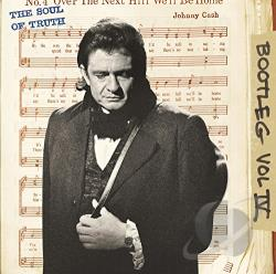 Cash, Johnny - Bootleg, Vol. 4: The Soul of Truth CD Cover Art