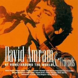 Amram, David - At Home/Around The World CD Cover Art