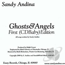 Andina, Sandy - Ghosts and Angels CD Cover Art