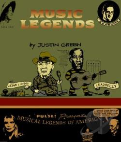 Green, Justin - Musical Legends:The Collected Comics CD Cover Art