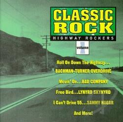Classic Rock 1: Highway Rockers CD Cover Art