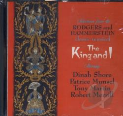 Shore, Dinah - King and I (Selections) CD Cover Art