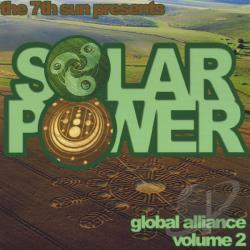 Seventh Sun - Vol. 2 - Solar Power Global Alliance Mixtape CD Cover Art