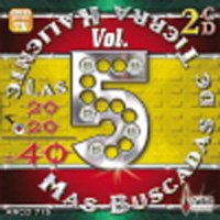 Las 40 Mas Buscadas 5 CD Cover Art