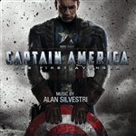Captain America: The First Avenger CD Cover Art