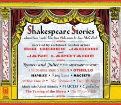 Jacobi, Derek - Shakespeare Stories CD Cover Art