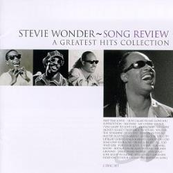 Wonder, Stevie - Song Review: A Greatest Hits Collection CD Cover Art