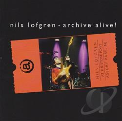 Lofgren, Nils - Archive Alive! CD Cover Art