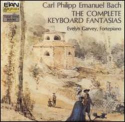 Bach, C.P.E. - Carl Philipp Emanuel Bach: The Complete Keyboard Fantasias CD Cover Art