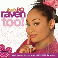 That's So Raven Too! CD Cover Art