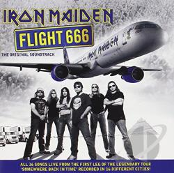 Iron Maiden - Flight 666 CD Cover Art