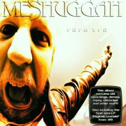 Meshuggah - Rare Trax CD Cover Art