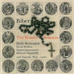 Besnoziuk: vln - Biber: The Rosary Sonatas CD Cover Art
