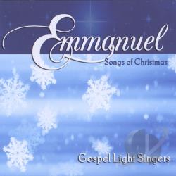 Gospel Light Singers - Emmanuel CD Cover Art