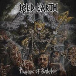 Iced Earth - Plagues of Babylon CD Cover Art
