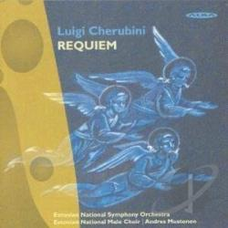 Mustonen, Andres - Cherubini: Requiem Mass No. 2 In D Minor DB Cover Art