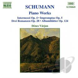 Schumann / Varjon - Schumann: Piano Works CD Cover Art