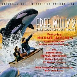 Free Willy 2: The Adventure Home CD Cover Art