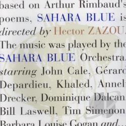 Zazou, Hector - Sahara Blue CD Cover Art