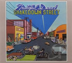 Grateful Dead - Shakedown Street CD Cover Art