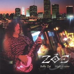 Zoe - Night Grooves CD Cover Art