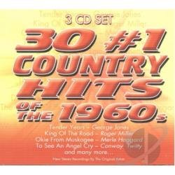 30 No 1 Country Hits Of The 1960S CD Cover Art