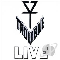 Trouble - Trouble Live Bootleg 1983 CD Cover Art