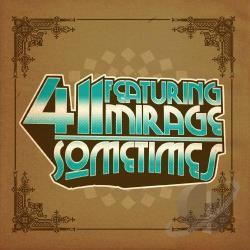 411 / Mirage - Sometimes CD Cover Art