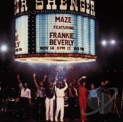 Beverly, Frankie / Maze - Live in New Orleans CD Cover Art