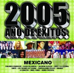 2005 Ano De Exitos: Mexicano CD Cover Art