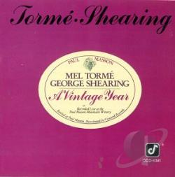Torme, Mel - Vintage Year CD Cover Art