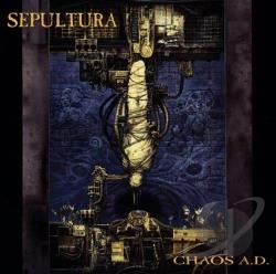 Sepultura - Chaos A.D. CD Cover Art