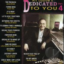 Art Laboe's Dedicated to You, Vol. 4 CD Cover Art
