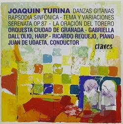 Turina, Joaquin - Works By Turina Vol. 1 CD Cover Art
