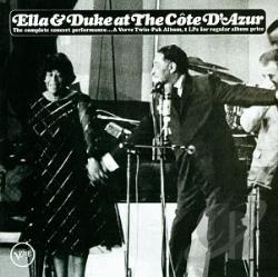 Ellington, Duke / Fitzgerald, Ella - Ella & Duke at the Cote D'Azur CD Cover Art