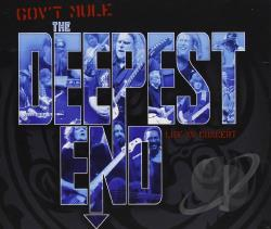 Gov't Mule - Deepest End CD Cover Art