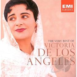 De Los Angeles, Victoria - Very Best of Victoria de los Angeles CD Cover Art