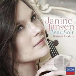 Jansen, Janine - Beau Soir CD Cover Art