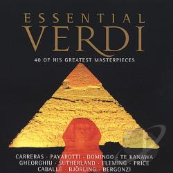 Essential Verdi - Essential Verdi CD Cover Art